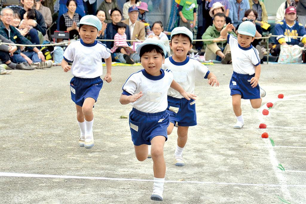 楽しい体験が子どもたちの 健やかな成長を育みます。