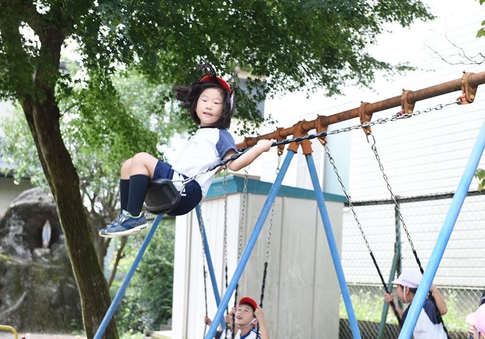 幼稚園の楽しい1日をご紹介