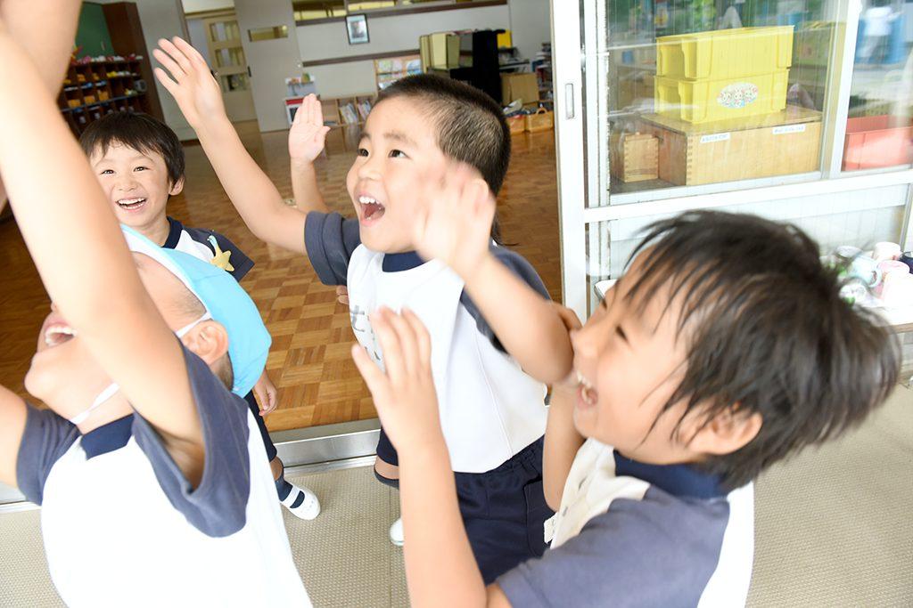 いつも笑顔で 幼稚園生活を過ごすために